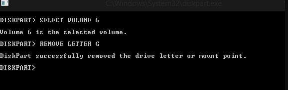 Cara Hide Drive Menggunakan CMD 5