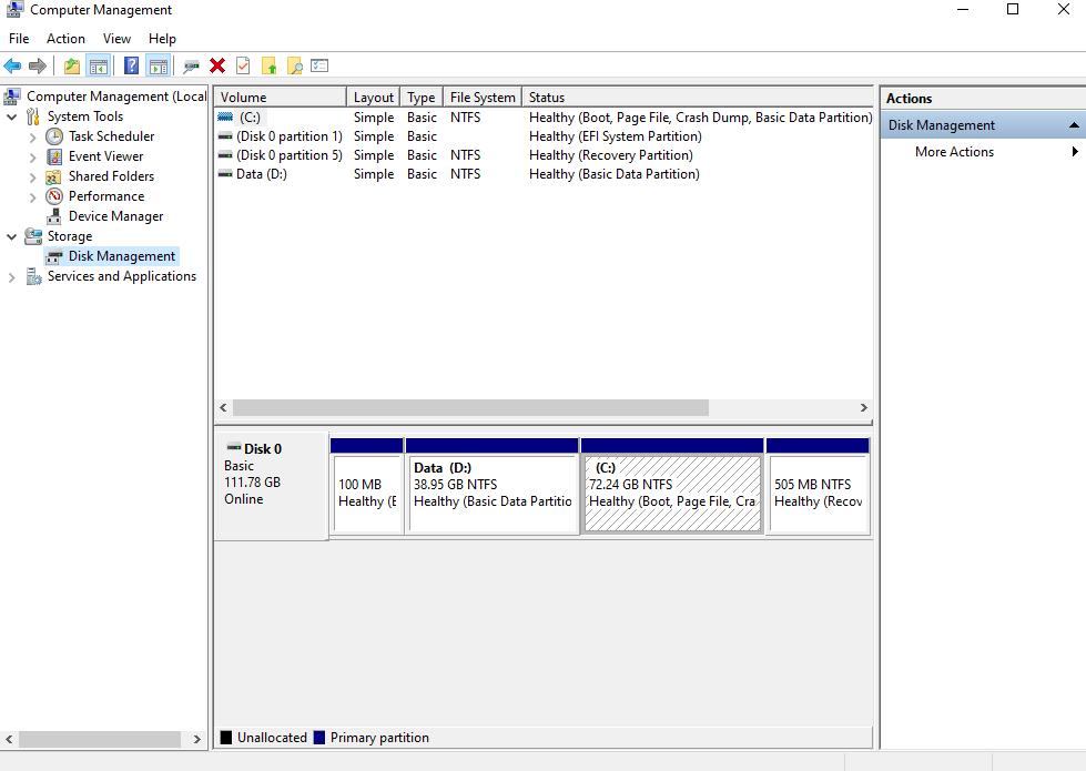 Cara Memulihkan File Dari Drive USB Yang Rusak - Disk Management