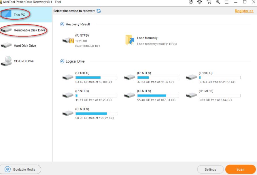 Cara Memulihkan File Dari Drive USB Yang Rusak Menggunakan MiniTool Power Data Recovery