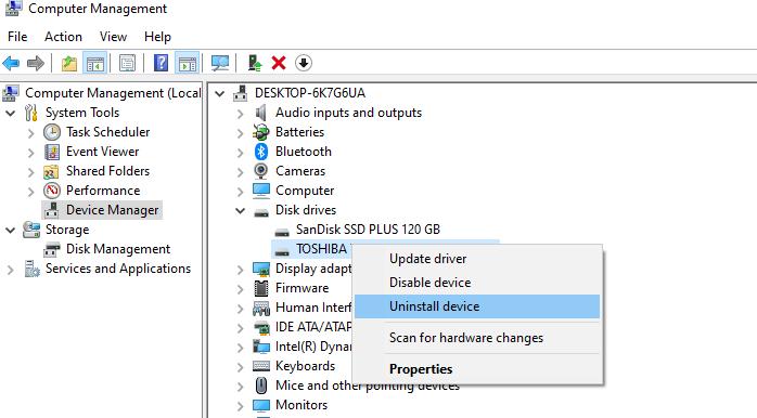 Menginstal Ulang USB Drive