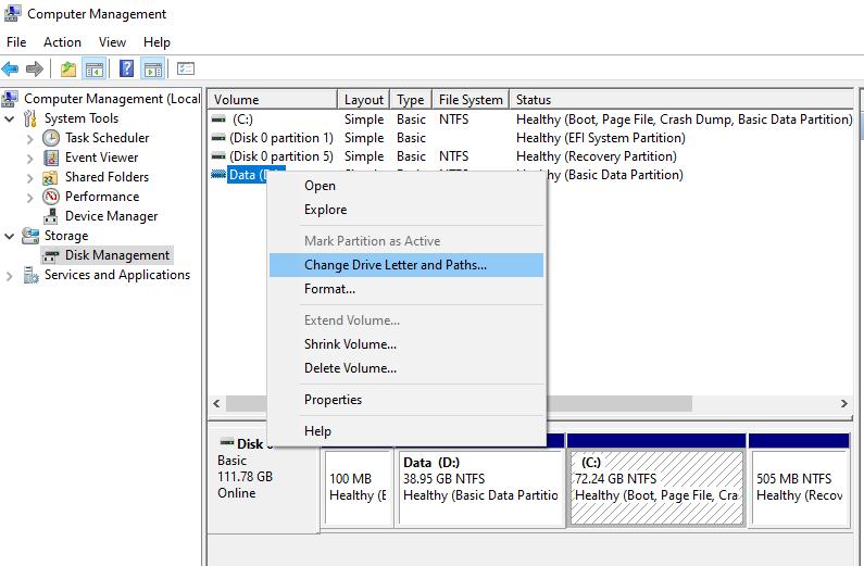 Cara Memulihkan File Dari Drive USB Yang Rusak - Merubah Nama Drive
