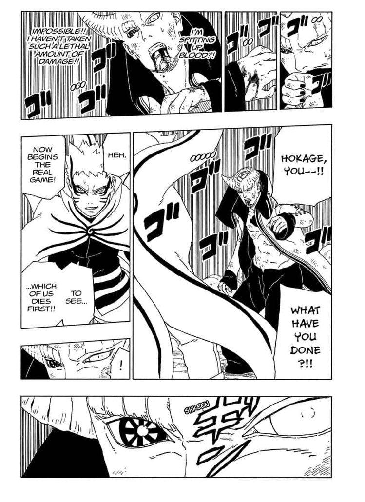 Comic Boruto Ch 52