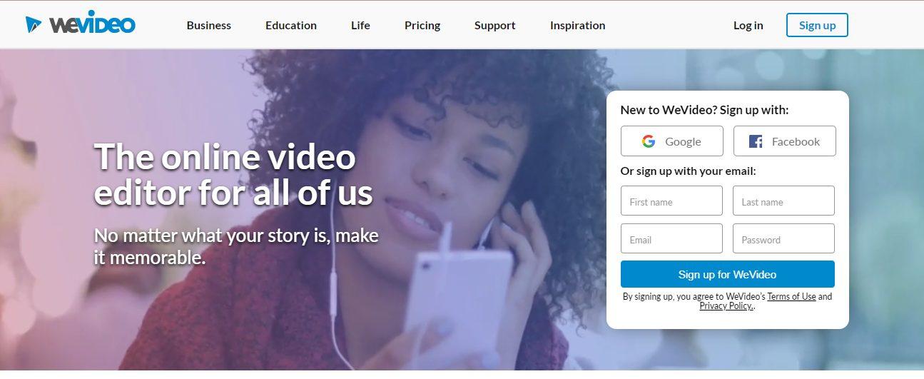 WeVideo Online Editor