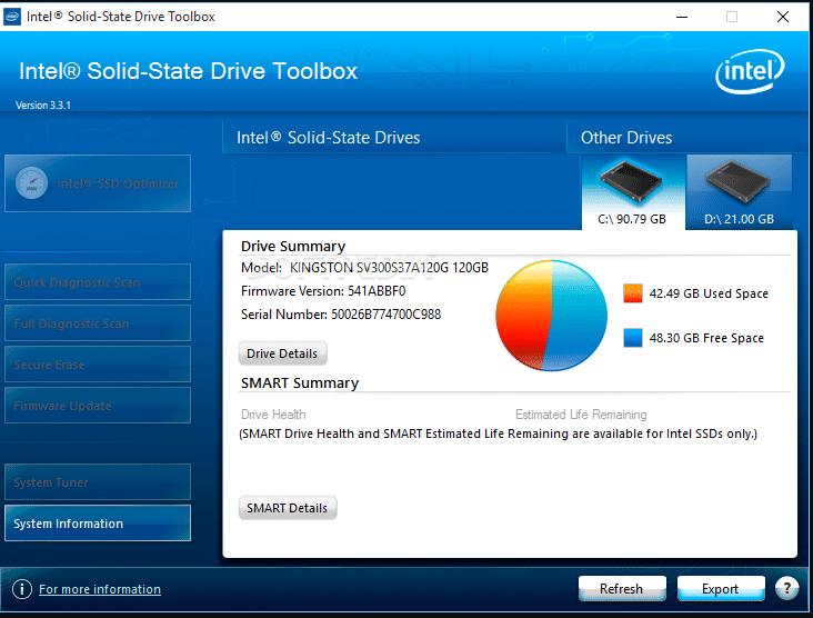 Intel Solid-State Drive Toolbox Free Tools Untuk Cek Kesehatan SSD Dan Hardisk