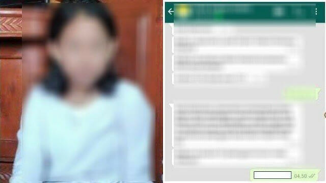 Kronologi Cinta Terlarang Bapak dan Anak Tiri Terbongkar, Berawal Dari Chat WhatsApp yang Dibaca Ibu