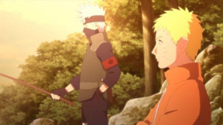 Naruto dan Kakashi