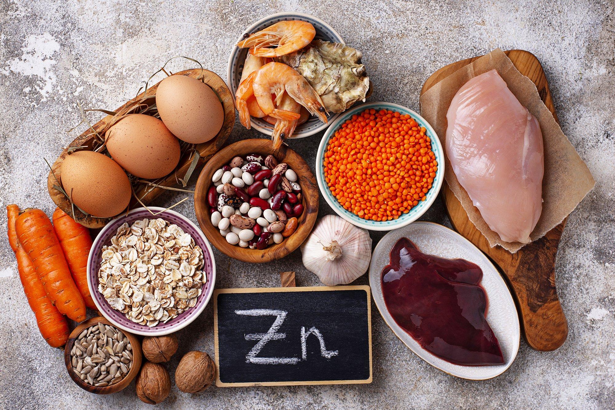 Sumber Makanan Yang Mengandung Zinc