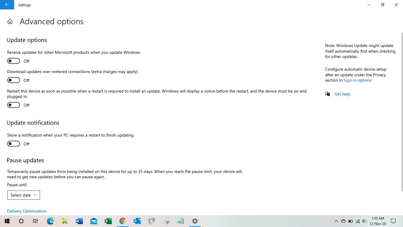 Langkah - Langkah menonaktifkan update windows