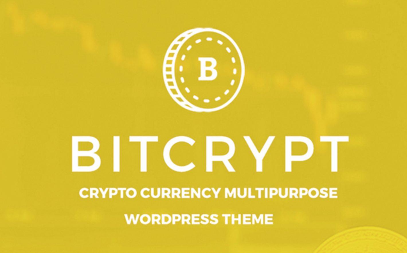 Bitcrypt WordPress Theme Free And Premium