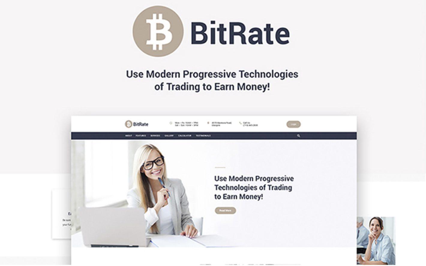 BitRate WordPress Theme Free And Premium