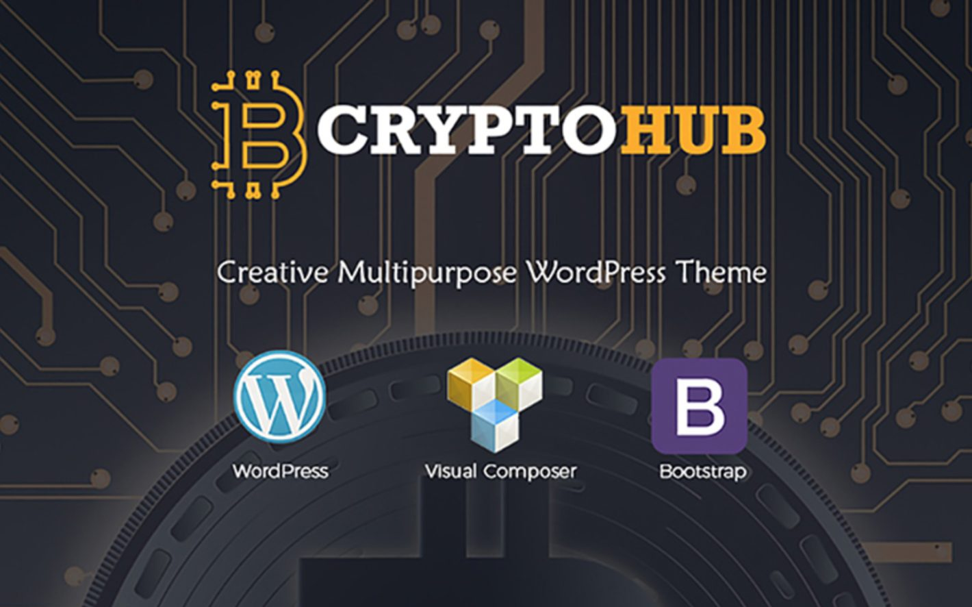 CryptoHub WordPress Theme