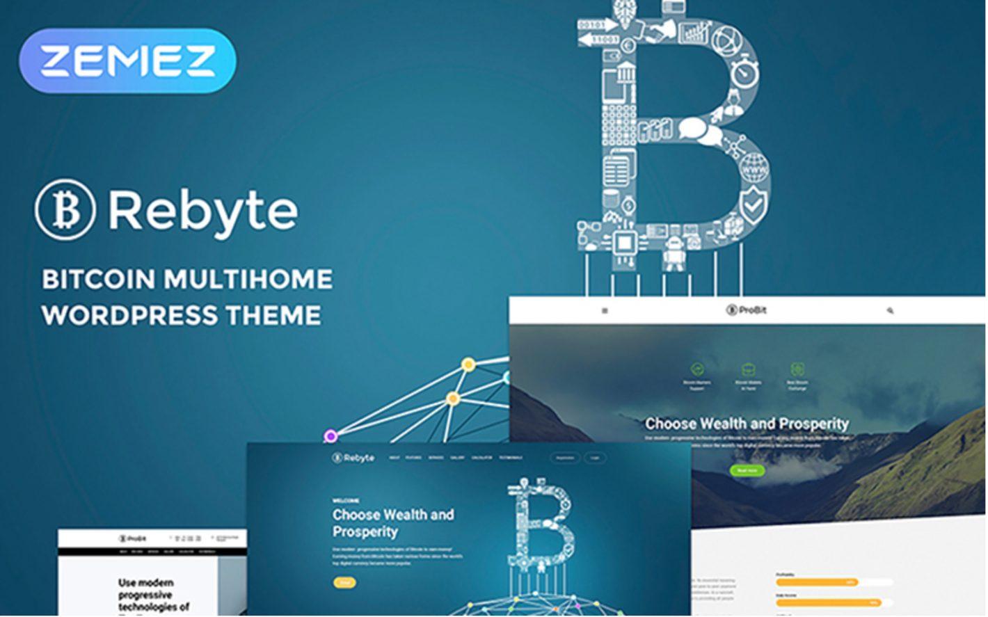 Rebyte WordPress Theme Free and Premium