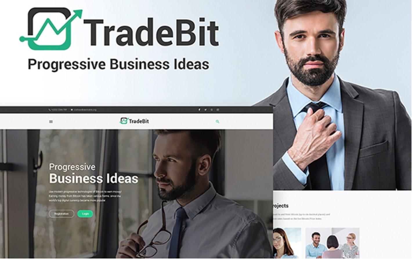 TradeBit WordPress Theme