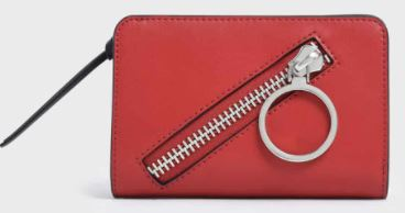 Charles and Keith Ring Detail Wallet