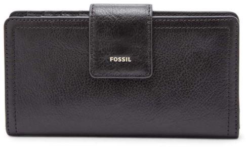 Fossil Logan RFID Tab Clutch Tan