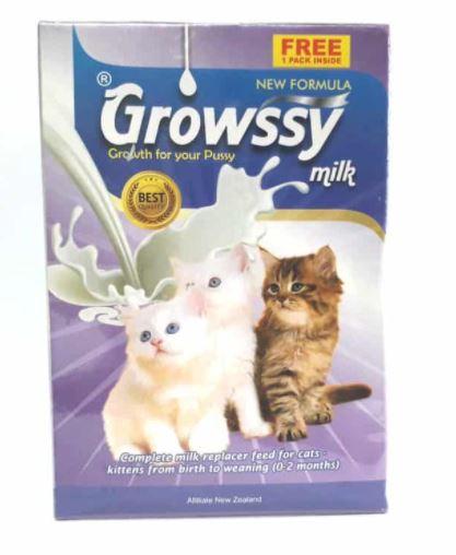 Growssy Milk Rekomendasi Susu Kucing Terbaik