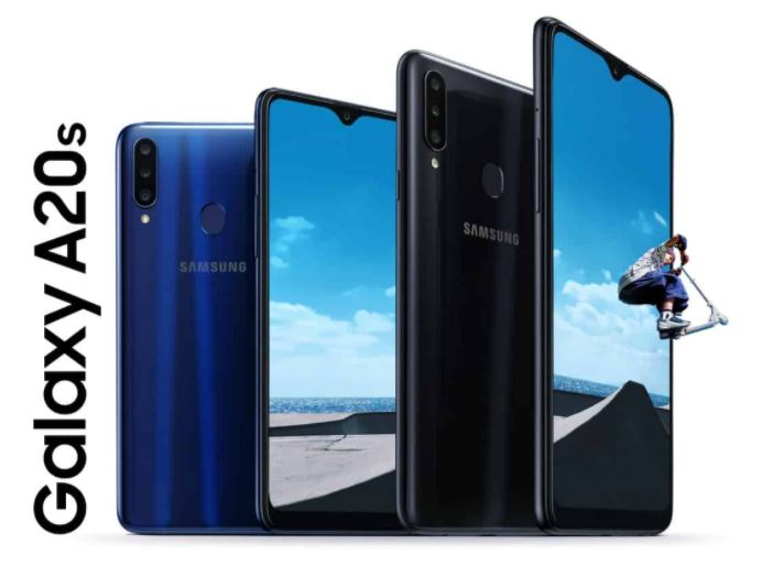 Samsung Galaxy A20s HP Android Termurah dan Awet