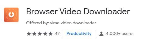 Browser Video Downloader