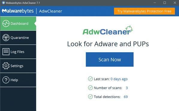 Download AdwCleaner Offline Installer Versi Terbaru Untuk Windows 10