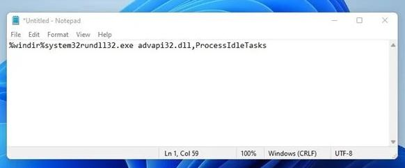 Menggunakan Memory Cleaner Batch File (System Booster)