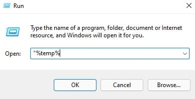 Cleaning Temporary Files